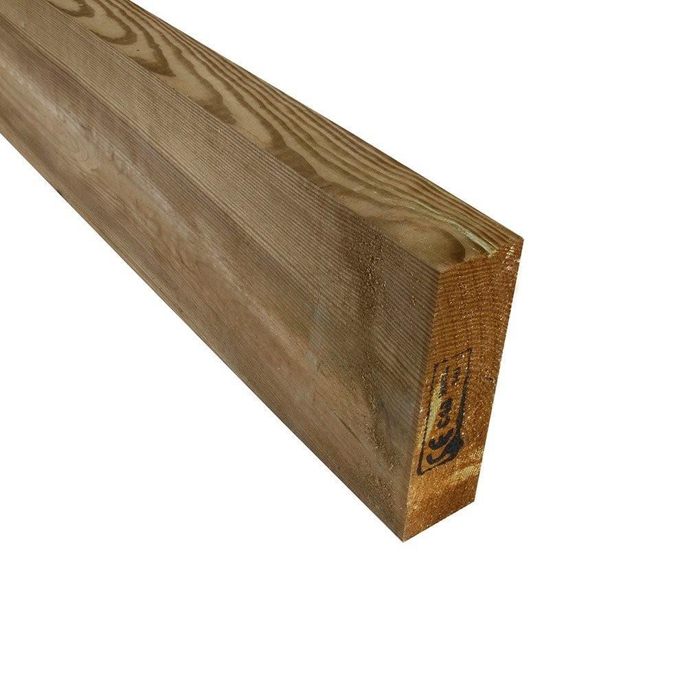 Solive en pin trait autoclave classe 4 so garden - Terrasse bois pin classe 4 ...