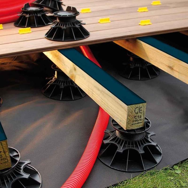 bande bitumineuse pour lambourde bois so garden. Black Bedroom Furniture Sets. Home Design Ideas