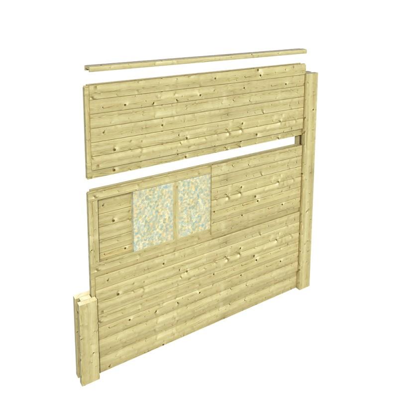 mur anti bruit silenzo rfelct 60x120cm so garden. Black Bedroom Furniture Sets. Home Design Ideas