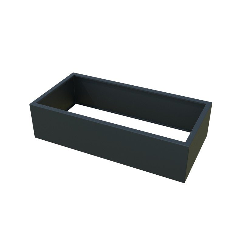 CARRE POTAGER ALUMINIUM MODULE RECTANGLE
