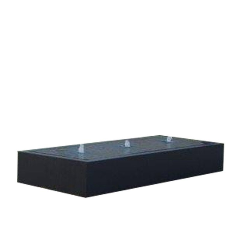 TABLE D'EAU ALUMINIUM CARREE