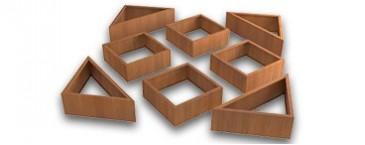 Les carrés potager